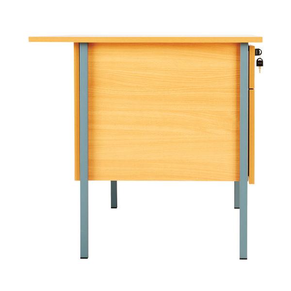 Serrion 1200mm Bavarian Beech 2-Drawer Desk – KF838371