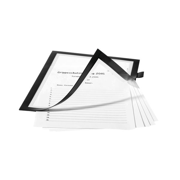 Durable Black A4 Duraframe Note - 499301