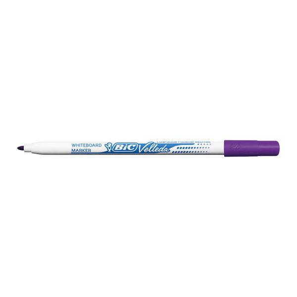 Bic Velleda 1721 Fine Tip Assorted Whiteboard Markers -  Pack  8 - 1199005728