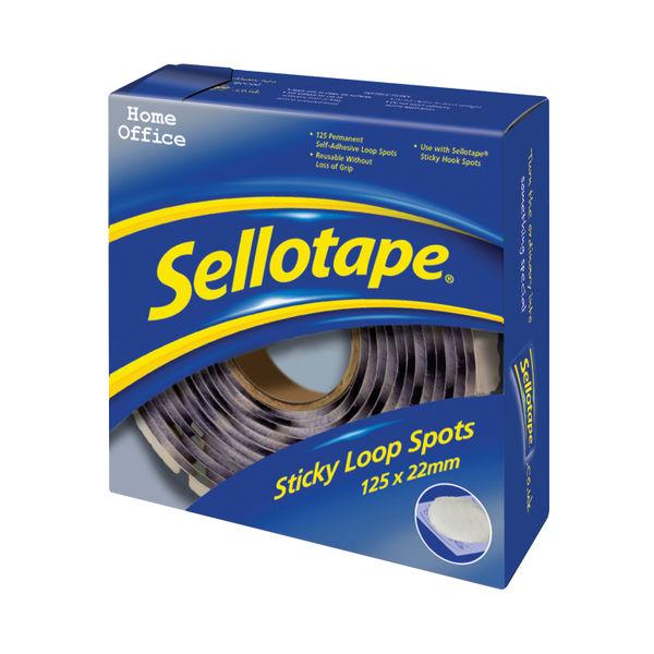 Sellotape Loop Spots   Pack Of 125   531368