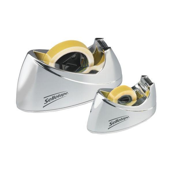 Sellotape Large Chrome Dispenser - 575450