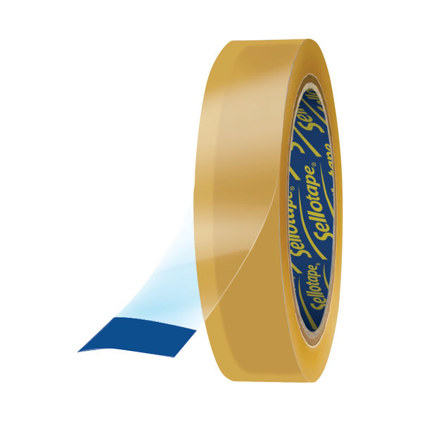 Sellotape Original Golden 48mm x 66m Tapes, Pack of 6 - 1443304