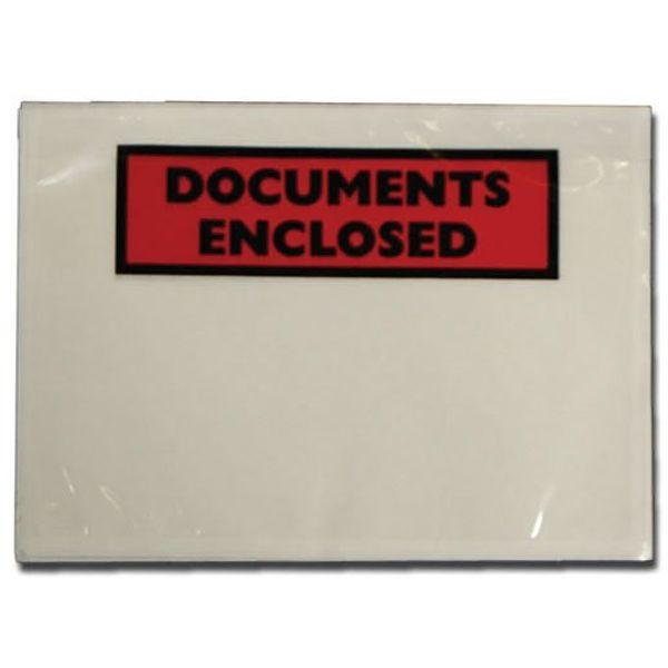 Tenza A6 Document Enclosure Labels Pack Of 100 PLE-DOC-A6-1