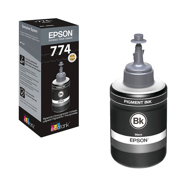 Epson T7741 Black Ink Bottle - C13T774140
