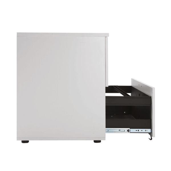 Jemini 730mm White 2 Drawer Side Filer