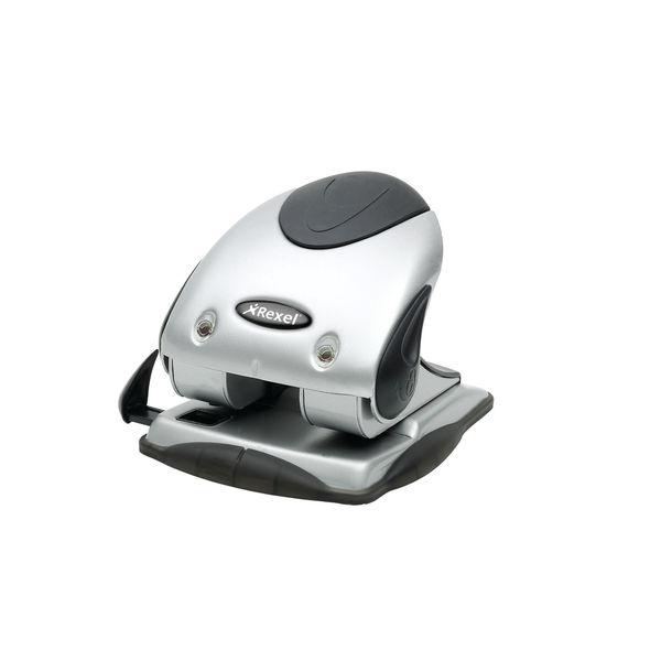 Rexel Premium Punch P240 Silver Black 2100748