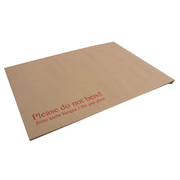 Q-Connect C4 Board Back Peel and Seal Envelope Pack of 10   KF3523