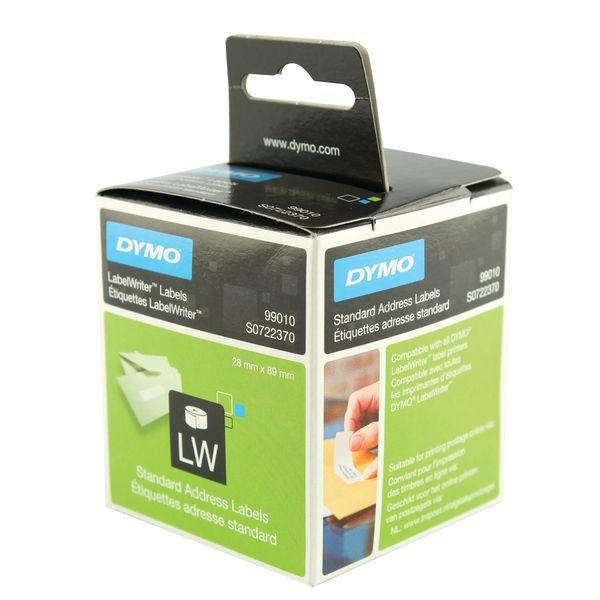 Dymo Label Writer Address Labels 89 x 28mm White | S0722370
