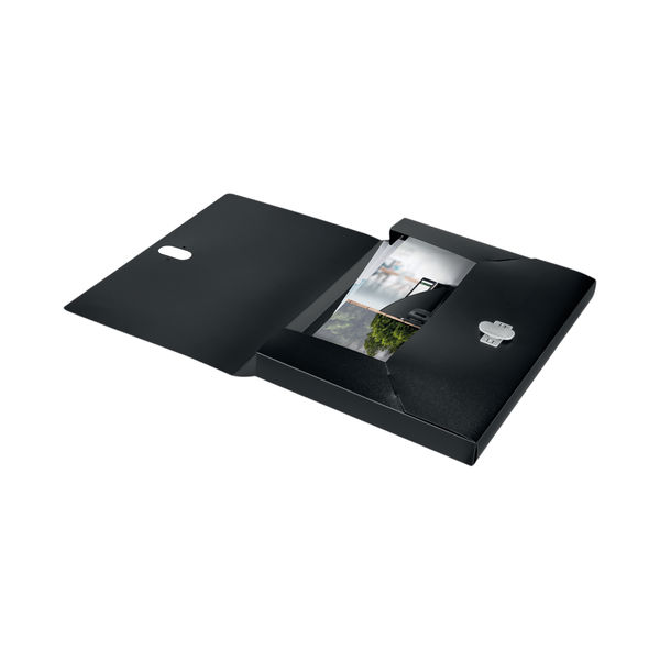 Leitz Box File 100 Percent Recyclable Black (Pack of 5) 46230095
