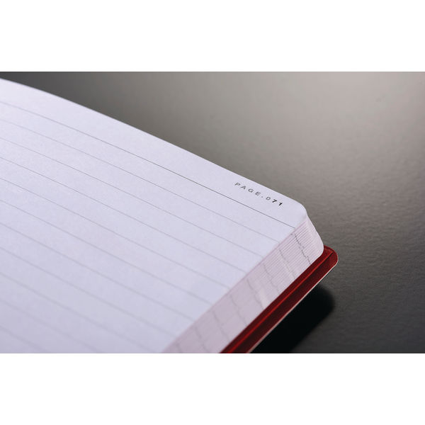 Black n Red A5 Soft Cover Notebook - 400051204