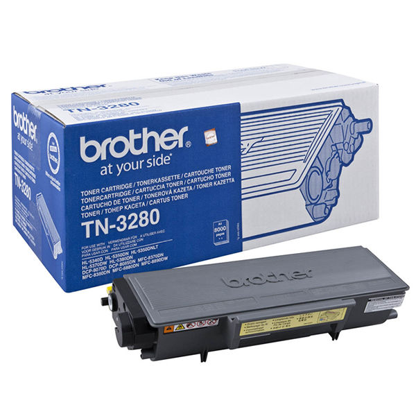 Brother TN-3280 Black Toner Cartridge - TN-3280