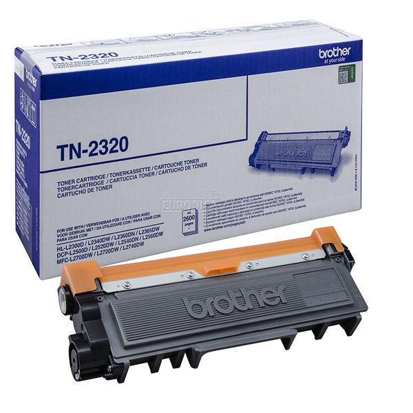 Brother TN-2320 Black Toner Cartridge - High Capacity TN2320