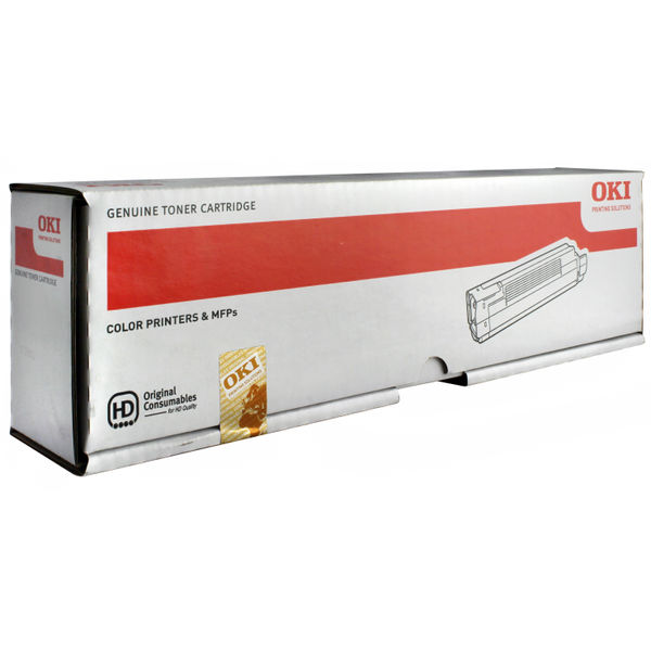 Oki C801/821 Black Toner Cartridge - 44643004