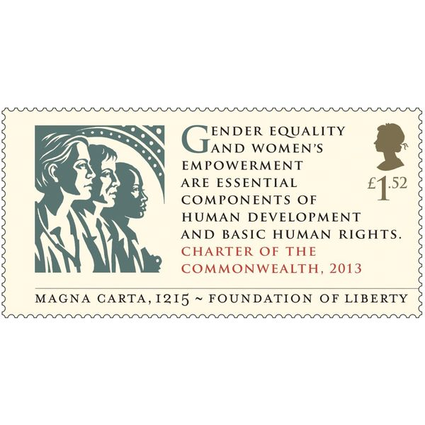 Magna Carta Stamps First Day Cover - BC525