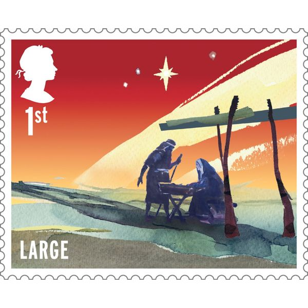 The Christmas 2015 Stamp cover - BC533