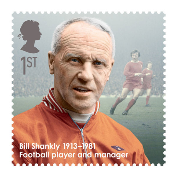 Great Britons Bill Shankly Stamps First Day Cover - BC462