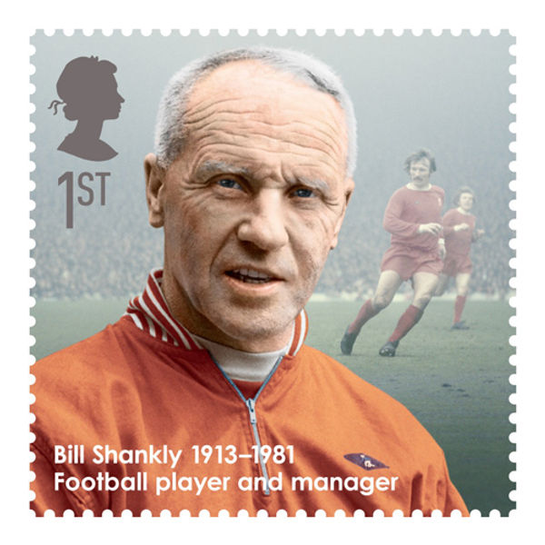 Great Britons Bill Shankly Stamps Signed First Day Cover - BC462S