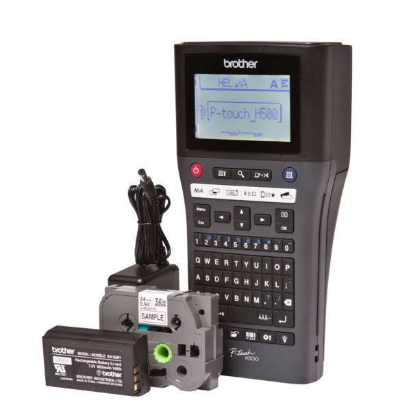 Brother P-Touch PT-H500 Handheld Label Printer - PTH500Z1