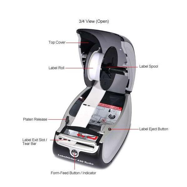 Dymo LabelWriter 450 Turbo Label Printer - S0838860