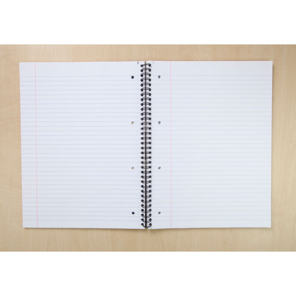 Oxford Campus A4+ Navy Wirebound Notebook - 400062641