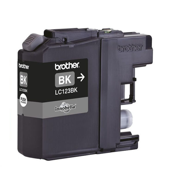 Brother LC123BK Black Ink Cartridge LC-123BK