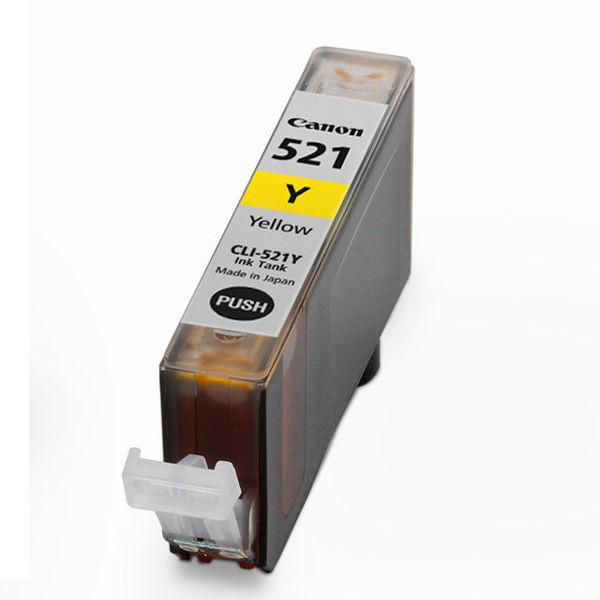 Canon CLI-521Y Yellow Ink Cartridge - CLI-521 Y