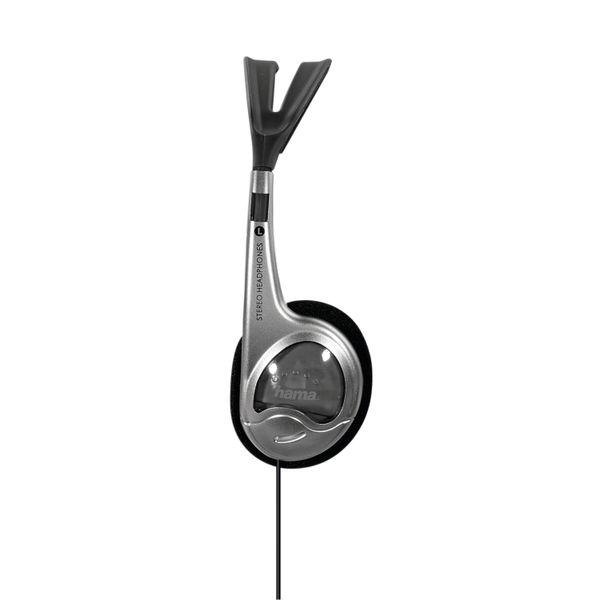 Hama HK 229 Stereo Headset on-ear Silver 116806