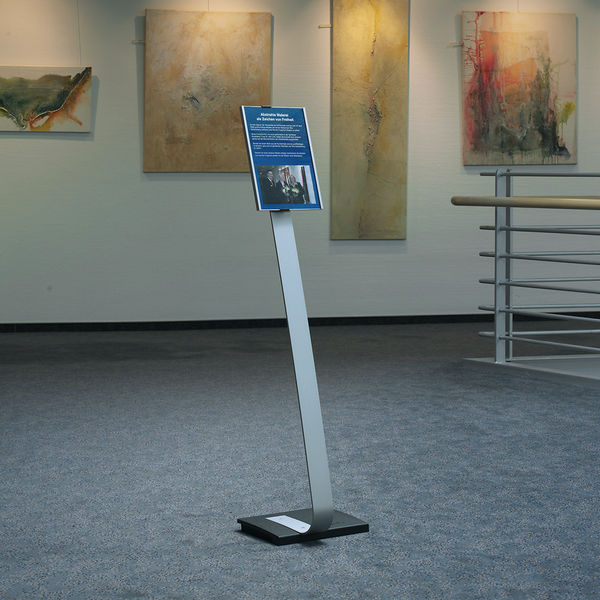 Durable Stand A4 1110x1180mm Silver 4812/23