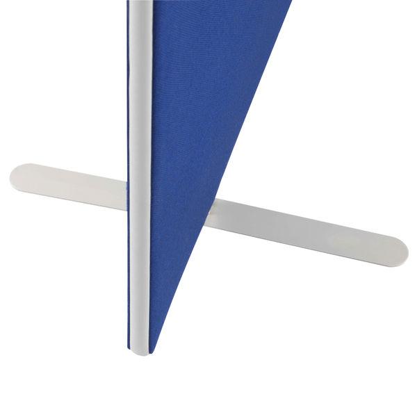Jemini W1200 x H1600mm Blue Floor Standing Screen