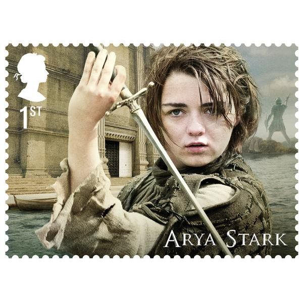 Game of Thrones Framed Character Stamp Set -N3115