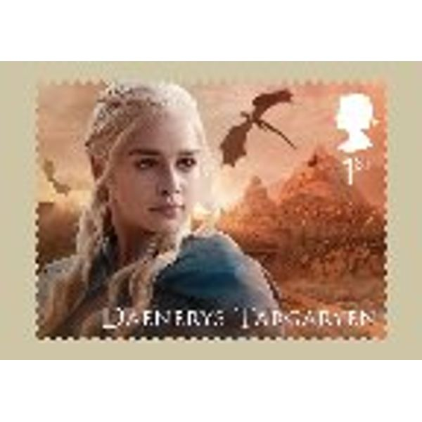 Game of Thrones Stamp Cards - AQ258