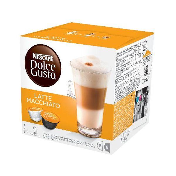 Nescafe Dolce Gusto Latte Macchiato Capsules, Pack of 48 - 12019858