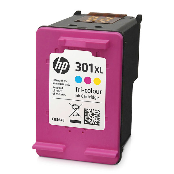 HP 301XL High Capacity Tri-Colour Ink Cartridge | CH564EE