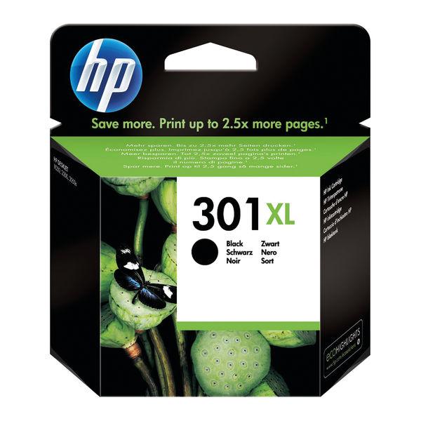HP 301XL High Capacity Black Ink Cartridge | CH563EE