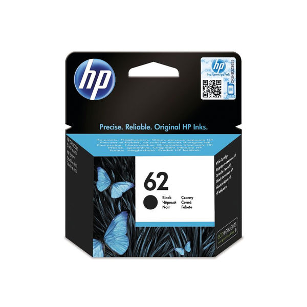 HP 62 Black Ink Cartridge | C2P04AE