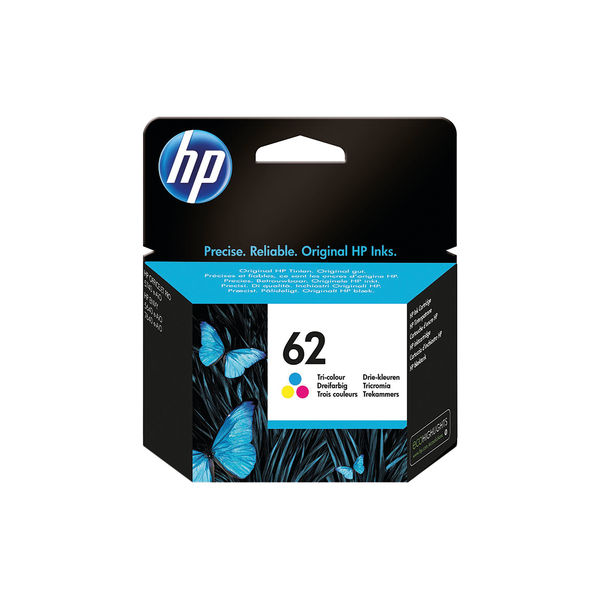 HP 62 Tri-Colour Ink Cartridge | C2P06AE