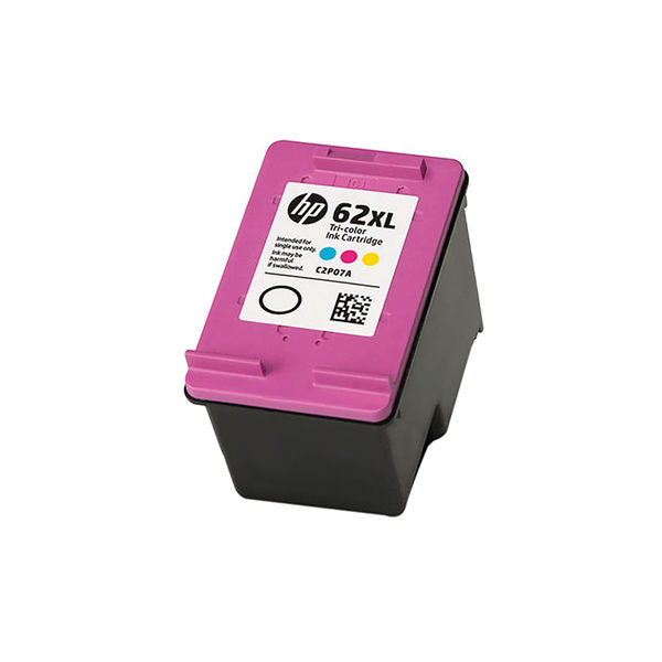 HP 62XL Tri-Colour High Yield Ink Cartridge | C2P07AE