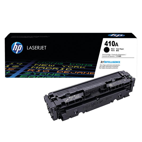 HP 410A Black Toner Cartridge - CF410A