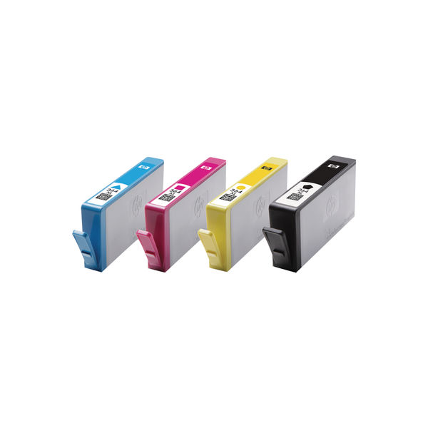HP 364XL Cyan/Magenta/Yellow/Black Ink Cartridges High Yield (Pack of 4) N9J73AE