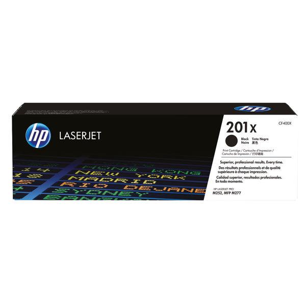 HP 201X High Yield Black LaserJet Toner Cartridge, Dual Pack | CF400XD