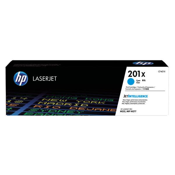 HP 201X Cyan Laserjet Toner Cartridge High Capacity | CF401X