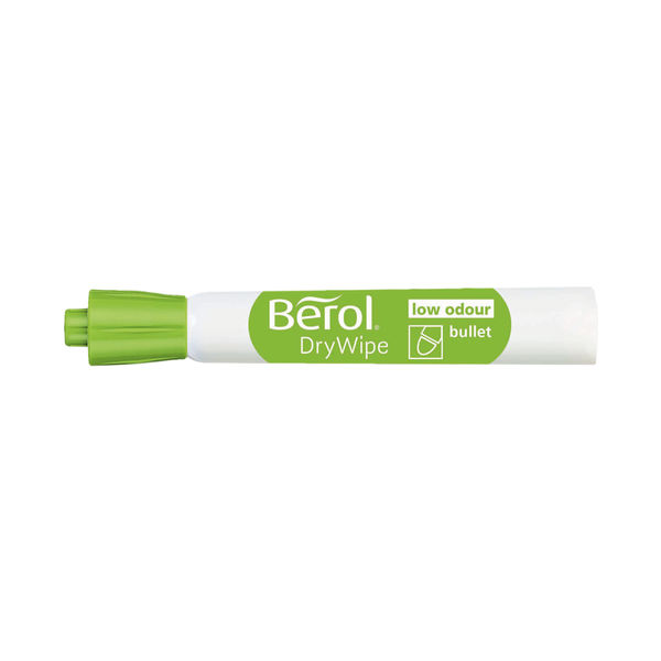 Berol Drywipe Marker Bullet Tip Assorted (Pack of 8) 1984865