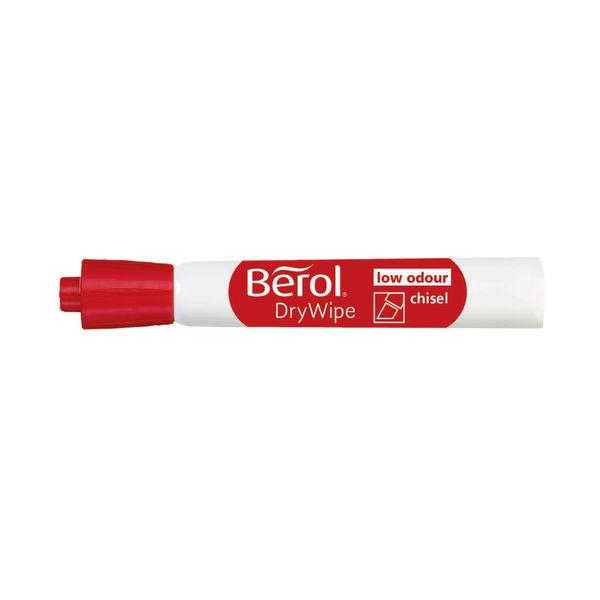 Berol Drywipe Marker Chisel Tip Assorted (Pack of 8) 1984884