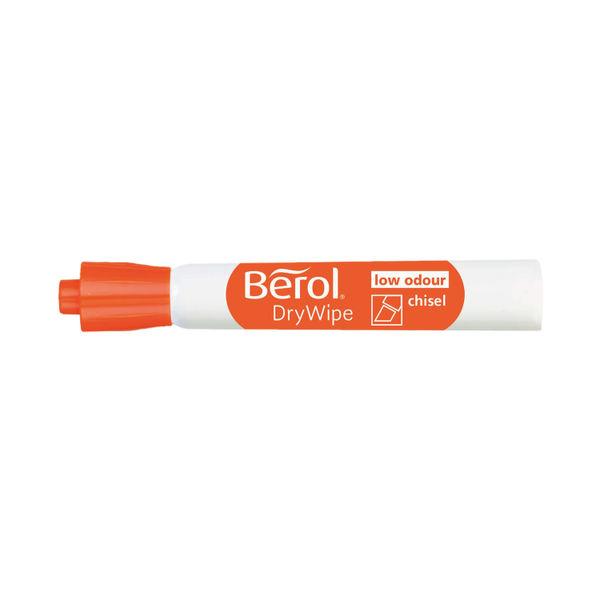 Berol Drywipe Marker Chisel Tip Assorted (Pack of 48) 1984886