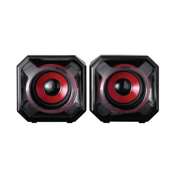 SureFire Black and Red Gator Eye Gaming Speakers - 48820
