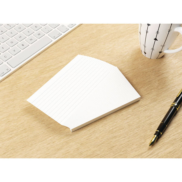 Silvine Climate Friendly Lined Record Cards 5 x 3in 553RE