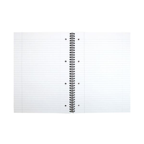 Cambridge A4 Ruled Margin Wirebound Notebooks, Pack of 3 - 400039062