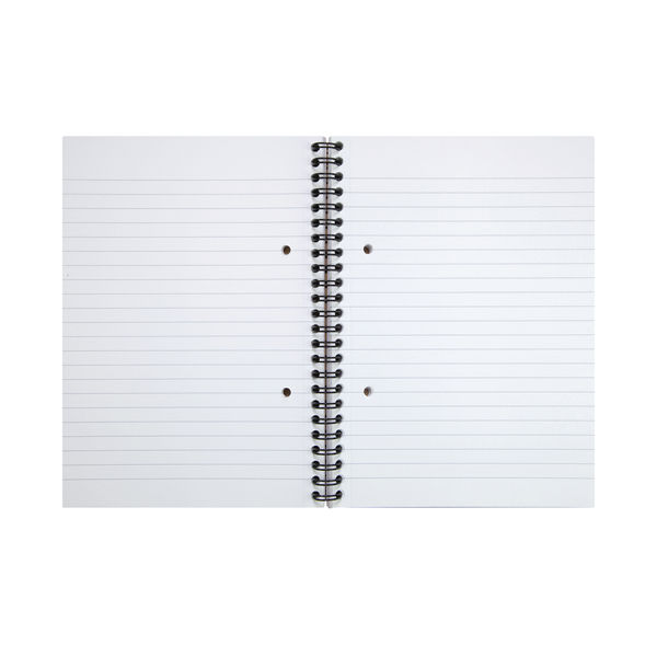 Cambridge A5+ Recycled Ruled Wirebound Notebooks, Pack of 3 - 100080106