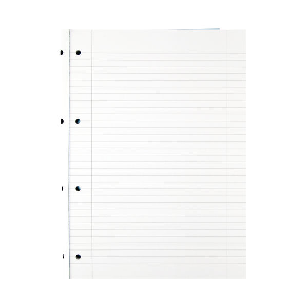 Summit A4 Sidebound Refill Notepads 4 Hole Punched - Pack of 5 - 846200192