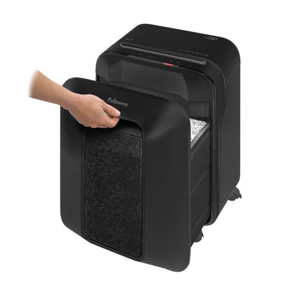 Fellowes LX201 Black Micro Cut Shredder – 5160001